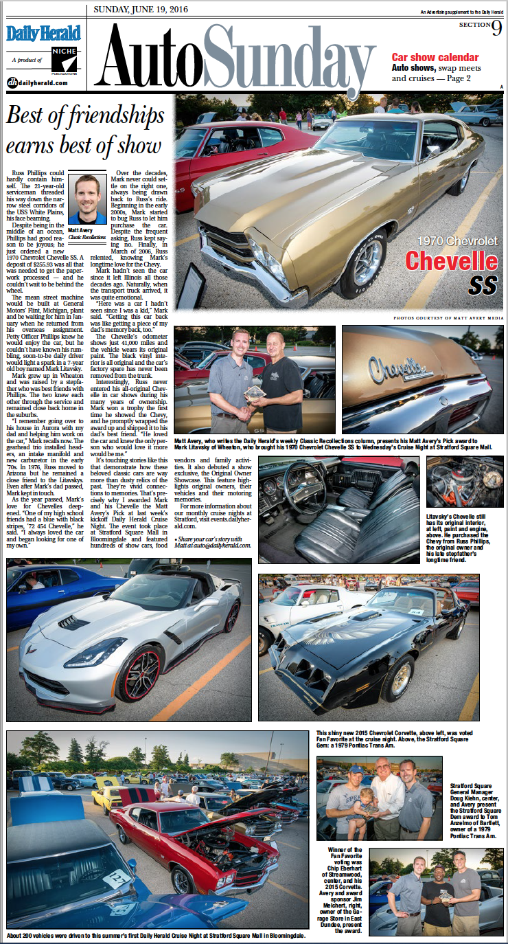 Daily Herald Cruise Nights - Weekly car shows near me