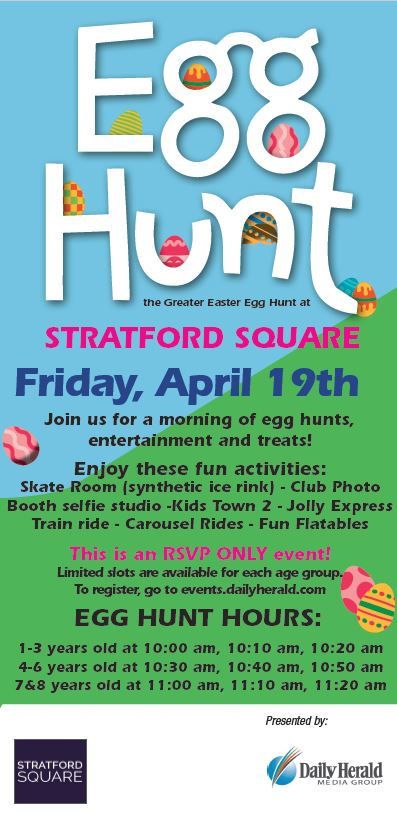 Stratford Square Egg Hunt
