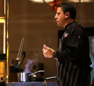 Chef Mario Rizzotti of Iron Chef